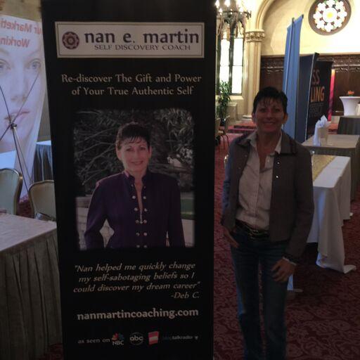 Nan at Live Event Mastery